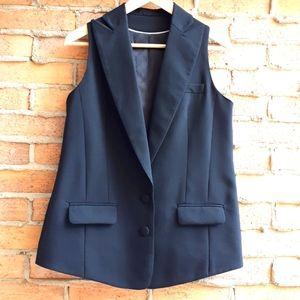 Tristan Stretch Wool Vest